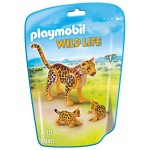 Playmobil 6940 : Wild Life : Léopard avec ses bébés