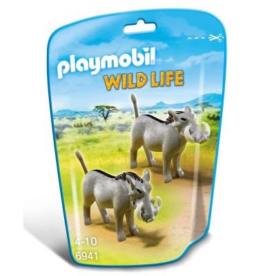 Playmobil 6941 : Wild Life : Phacochères - Playmobil-6941