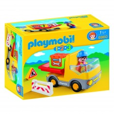 Playmobil 6960 : 1.2.3 : Camion benne