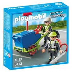 Playmobil 6113 : City Action : Équipe d'entretien de voirie