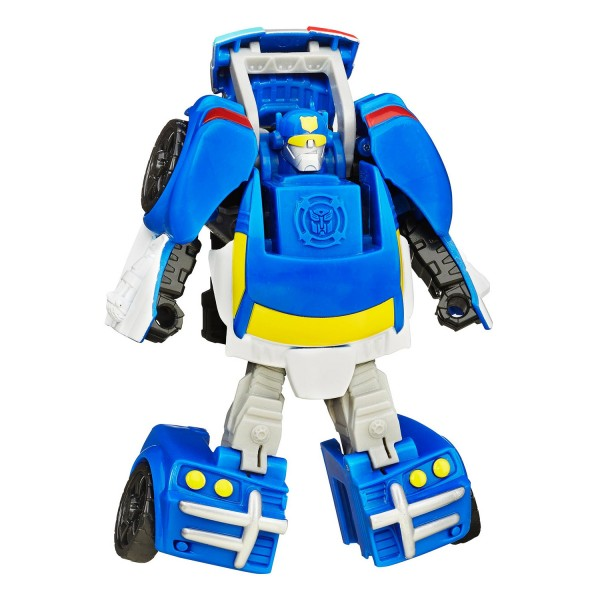 Figurine Transformers Rescue Bots Chase Le Robot