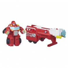 Figurine Transformers Rescue Bots : Heatwave pompier arroseur