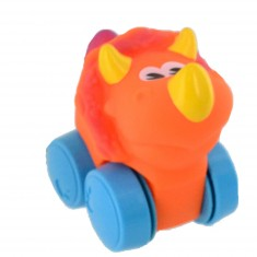 Voiture Roulimou : Dino orange