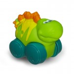 Voiture Roulimou : Dino vert fluo