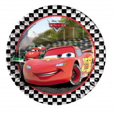 Assiettes Cars x8