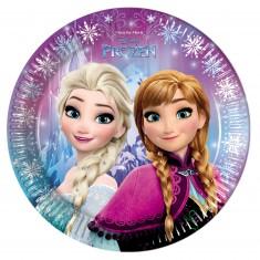 Assiettes La Reine des Neiges (Frozen) x8