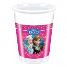 Gobelets en plastique La Reine des Neiges (Frozen) x8