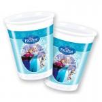 Gobelets La Reine des Neiges (Frozen) x8