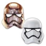 Masques Star Wars en papier x 6
