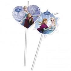 Pailles La Reine des Neiges (Frozen) x6