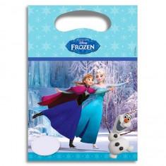Sachets anniversaire La Reine des Neiges (Frozen) x6
