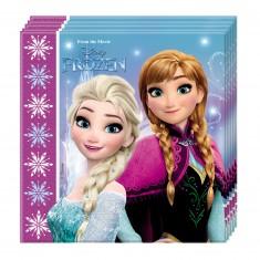 Serviette La Reine des Neige (Frozen) x20