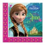 Serviettes en papier la Reine des Neiges (Frozen) x20