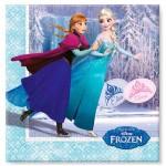 Serviettes La Reine des Neiges (Frozen) x20