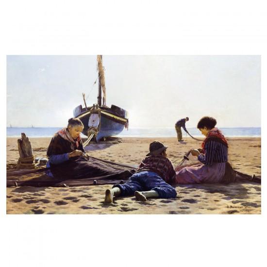 Puzzle d'art en bois 250 pièces Michèle Wilson - Baixeras : Le Bonheur - PMW-A221-250
