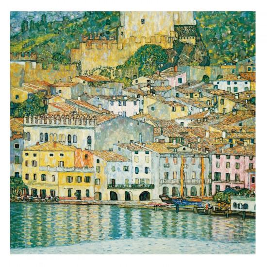 Puzzle d'art en bois 750 pièces Michèle Wilson - Klimt: Le lac de garde - PMW-A197-750