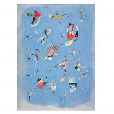 Puzzle d'art en bois 80 pièces Michèle Wilson - Kandinsky : Bleu de Ciel