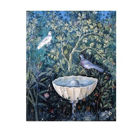 Puzzle d'art en bois 150 pièces Michèle Wilson - Oiseau au jardin Pompéi - PMW-A256-150