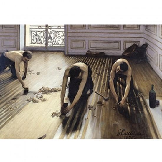 Puzzle d'art en bois 300 pièces Michèle Wilson-Grosses Pièces-Caillebotte : Les raboteurs de parquet - PMW-H817-300