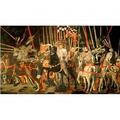 Puzzle d'art en bois 500 pièces Michèle Wilson - Uccello : La bataille de San Romano