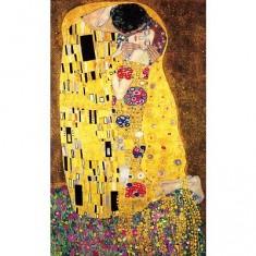 Puzzle d'art en bois 1000 pièces Michèle Wilson - Klimt : Le baiser