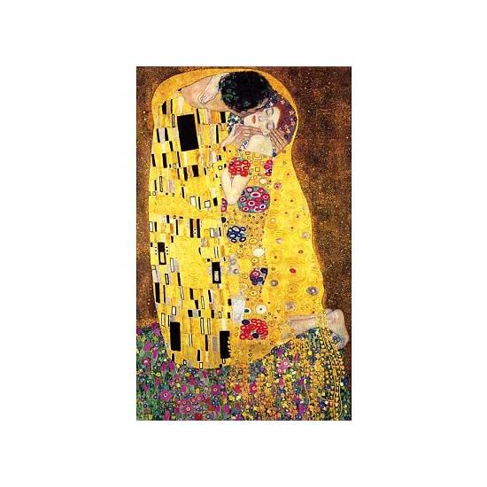 Puzzle d'art en bois 1000 pièces Michèle Wilson - Klimt : Le baiser - PMW-P108-1000