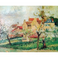 Puzzle d'art en bois 1000 pièces Michèle Wilson - Pissarro : Le prunier