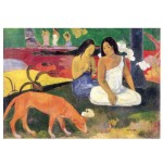 Puzzle d'art en bois 12 pièces Michèle Wilson - Gauguin : Arearea