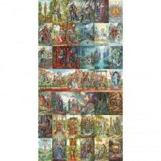 Puzzle d'art en bois 1200 pièces Michèle Wilson : Tarots d'Ambre, Florence Magnin