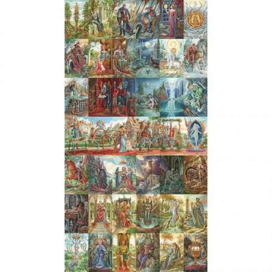 Puzzle d'art en bois 1200 pièces Michèle Wilson : Tarots d'Ambre, Florence Magnin - PMW-A371-1200