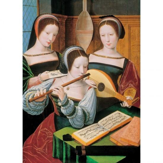 Puzzle d'art en bois 150 pièces Michèle Wilson : La chanson de Claude de Sermis - PMW-A234-150