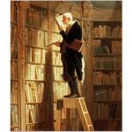 Puzzle d'art en bois 150 pièces Michèle Wilson - DAUMIER  :  Le Rat de Bibliothèque