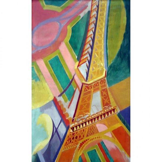Puzzle d'art en bois 150 pièces Michèle Wilson - Delaunay : Tour Eiffel - PMW-A276-150