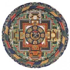 Puzzle d'art en bois 150 pièces Michèle Wilson - Mandala de Vajrabhairava
