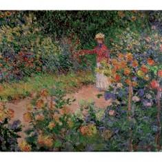 Puzzle d'art en bois 150 pièces Michèle Wilson - Monet : Le Jardin de Monet