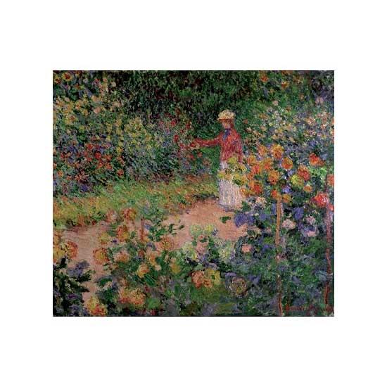 Puzzle d'art en bois 150 pièces Michèle Wilson - Monet : Le Jardin de Monet - PMW-A979-150