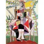 Puzzle d'art en bois 150 pièces Michèle Wilson - Picasso : Femme au jardin