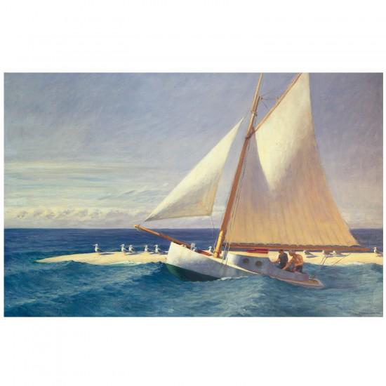 Puzzle d'art en bois 200 pièces Michèle Wilson - Hopper : Le bateau à voiles - PMW-H278-200