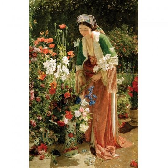 Puzzle d'art en bois 200 pièces Michèle Wilson - Lewis : Dans le jardin - PMW-H204-200