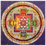 Puzzle d'art en bois 250 pièces : Art Tibétain : Mandala de Chakra