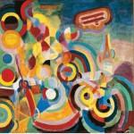 Puzzle d'art en bois 250 pièces Michèle Wilson - Delaunay : Hommage à Blériot
