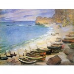 Puzzle d'art en bois 250 pièces Michèle Wilson - Monet : Etretat