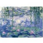 Puzzle d'art en bois 250 pièces Michèle Wilson - Monet : Nymphéas et saules