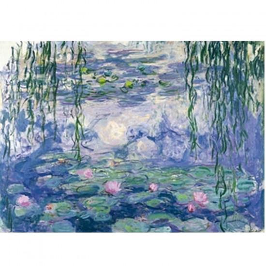 Puzzle d'art en bois 250 pièces Michèle Wilson - Monet : Nymphéas et saules - PMW-A104-250