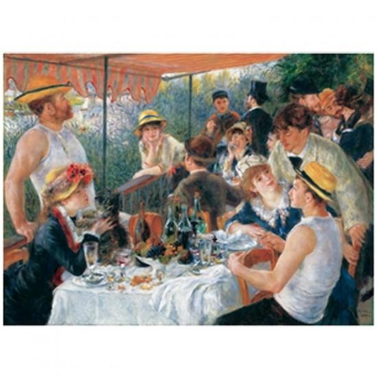 Puzzle d'art en bois 250 pièces Michèle Wilson Renoir : Le dejeuner des canotiers - PMW-C35-250