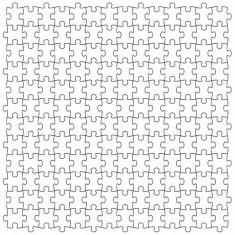 Puzzle d'art en bois 30 pièces Michèle Wilson : Diabolique