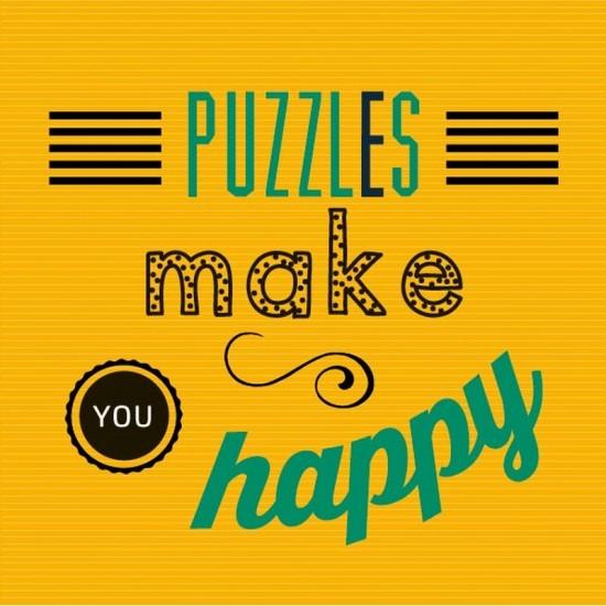 Puzzle d'art en bois 30 pièces Michèle Wilson : Puzzles make you happy - PMW-Z24