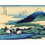 Puzzle d'art en bois 30 pièces Michèle Wilson : Umezawa, Hokusai