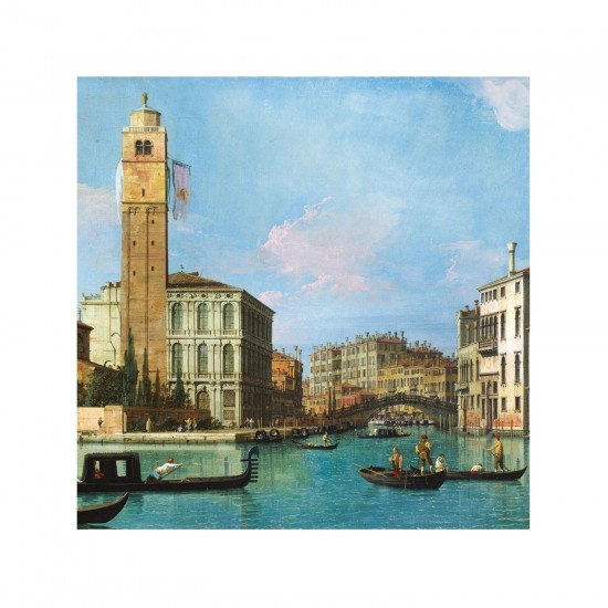 Puzzle d'art en bois 30 pièces Michèle Wilson - Canaletto : Canal - PMW-Z293