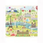 Puzzle d'art en bois 30 pièces Michèle Wilson Cuzzles Paris : Paris illustré